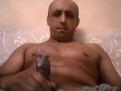 Bald smooth vidz daddy wanking