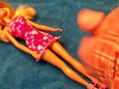 Barbie #1: vidz Cum on  super Dress 1 - Video 142