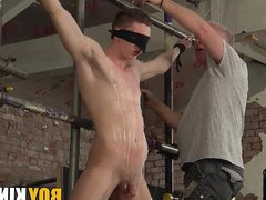 Horny and vidz hungry for  super pain Billy gets a good lesson