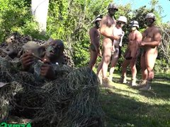 Military studs vidz buttfuck in  super forest