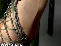 Black on vidz black gay  super bondage Filled With Toys