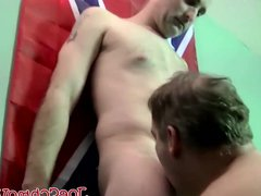 Big daddy vidz Joe swallowing  super and slurping hunks big cock
