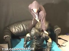 Punk gives vidz Whipping, Domination  super to a Slave