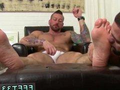 Gay feet vidz domination and  super samoan feet porn