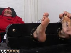 Teen boy vidz foot xxx  super gay Kenny Tickled In A