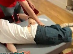 Spanking big vidz hairy legs  super gay Spanked Into
