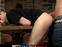 Homo lad vidz doggy-fucks a  super student in the cafe
