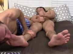 Feet massage vidz gay porno  super story Hunter Page &