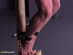 Russian Muscle vidz Stud Crucified  super Whipping BDSM Gay Bondage