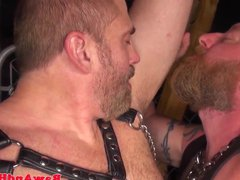 Leather fetish vidz bears rimming  super and cocksucking
