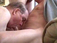 Sexy three vidz old men  super sucking each other