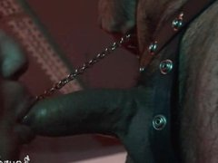 Hot-assed slave-boy vidz deepthroated by  super his old master