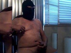 Masked Bator vidz Cum Session