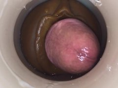 Sperming by vidz cum cam  super man