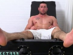 Skinny gay vidz twink with  super small feet Casey More