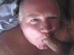 Older men vidz sucking a  super big cock
