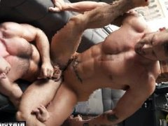 Muscle wolf vidz rimming and  super cumshot