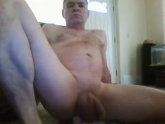 mike muters vidz enjoys my  super dildo