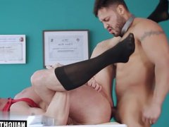 Big dick vidz gay fetish  super with facial