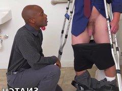 Hot interracial vidz steamy sex  super between two big dick hunks