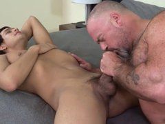 Latin Boy vidz Gets Fucked  super By Bear