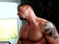 Tattoo gay vidz flip flop  super and cumshot