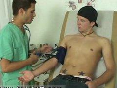 Male medical vidz fantasy with  super dad gay Nurse AJ