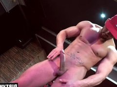 Muscle gay vidz rimjob with  super cumshot