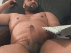 Hot sexy vidz muscle latin  super dude cumming