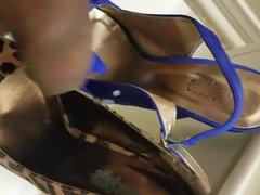 Cum in vidz peep toe  super heels and high heel pumps