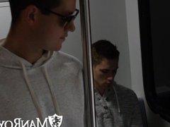 ManRoyale - vidz Zak Bishop  super & Ryan Pitt meet up to fuck