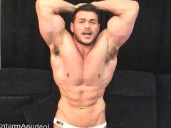 Massive muscle vidz under intruder  super hypn0sis