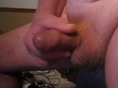 70 yrold vidz Grandpa #221  super uncut cum close solo wank mature old