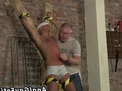 Bondage boy vidz nude gay  super He's trussed up to the