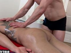 Muscle daddy vidz anal sex  super and massage