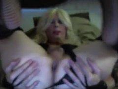 Sexy Tasha vidz Swift Blond  super Crossdresser Dirty Talk