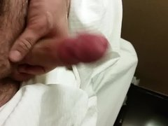 Stroking my vidz cock off  super 1
