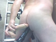 Joey DP vidz and wet  super curvy juicy Butt up Close