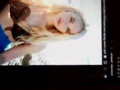 Cum Tribute vidz - Lauren  super Taylor