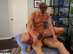 Muscle twink vidz anal sex  super with facial