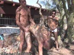 Cum gushing vidz out of  super her ass anal gay porn