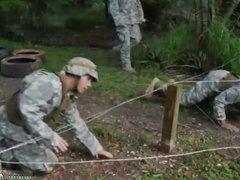 Military men vidz kissing naked  super gay Jungle nail