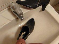 Piss in vidz wifes high  super cut court shoe