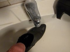 Piss in vidz wifes black  super ankle boot