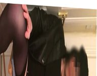 Tranny paying vidz with her  super tiny sissy cock