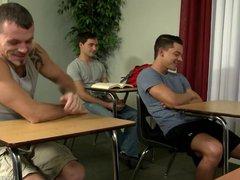 ExtraBigDicks Bad vidz Boys 3Way  super in Detention