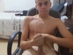 Italian boy vidz str8 big  super cock wanker , cum