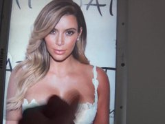 Kim Kardashian vidz Cum Tribute  super 10
