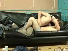 Teen gay vidz boys get  super out of their pants for fun time