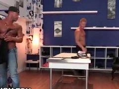 Micah Brandt vidz Slams Redhead  super with Big Black Cock